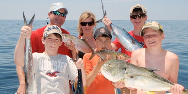 Visiting San Diego? Why not take the family fishing!