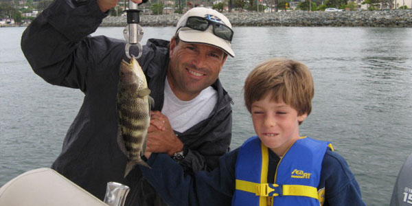 A day or two of fishing is the perfect activity for the whole family